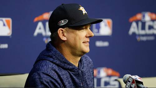 Hinch, Luhnow offer thoughts on 2018 Astros season
