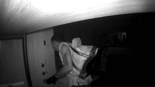 Thieves who ransacked apartment in Energy Corridor caught on camera