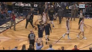 Davis lifts Pelicans past Heat in overtime 124-123
