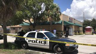 Man shot inside Hollywood meat market