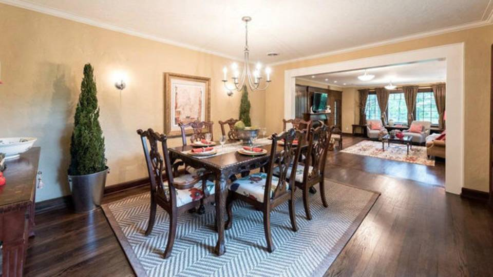 2204 Lafayette Rd dining room
