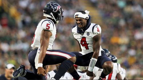 What initial 53-man roster for regular season will look like for Houston Texans