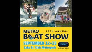 It's a Free Friday! Enter To Win a Family 4 Pack to the Metro Boat Show!