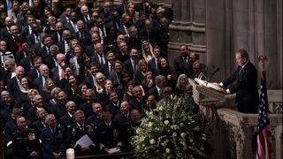 READ: George W. Bush's eulogy at his father's funeral