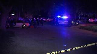 2 followed home from bar, shot in chest after fight