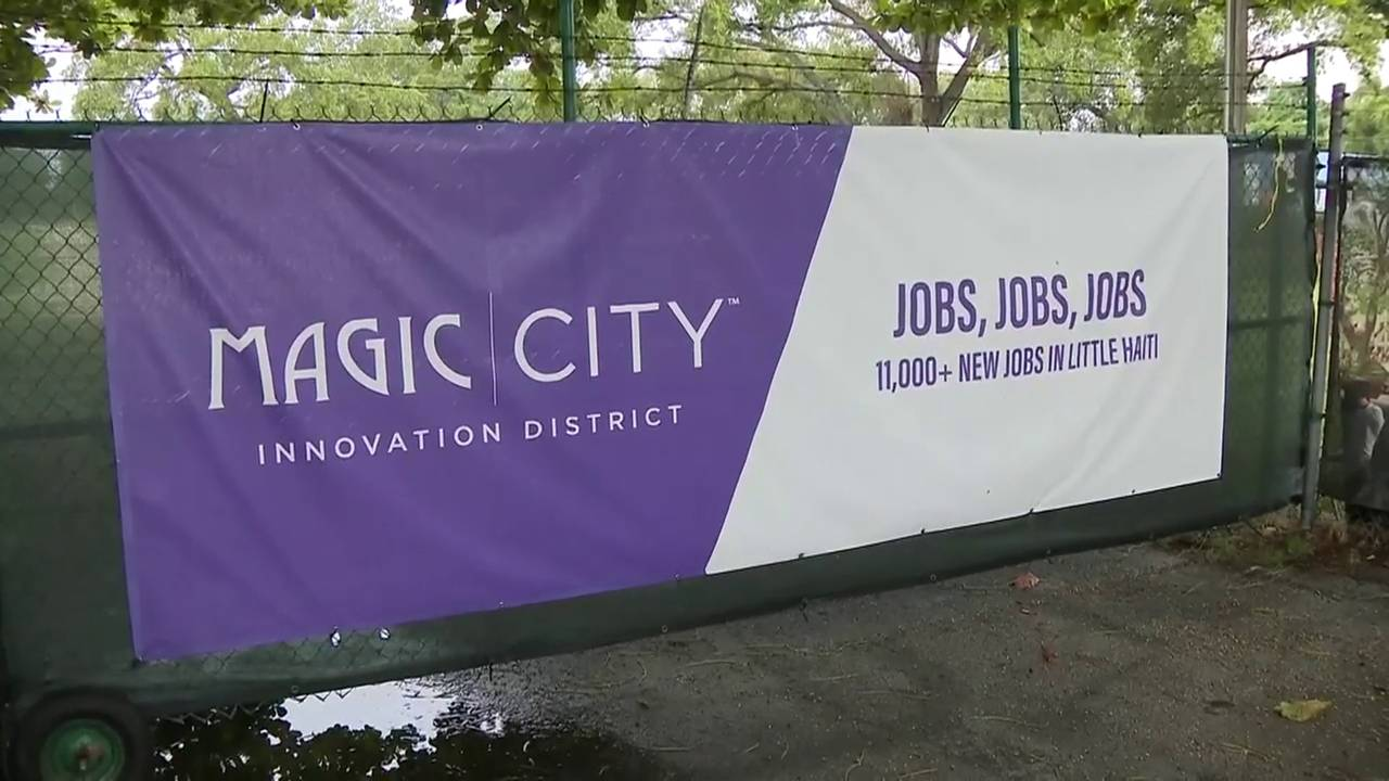 Magic City Innovation District banner