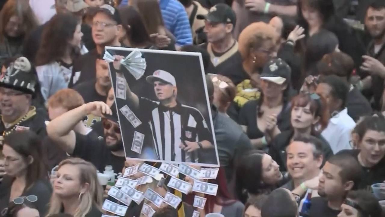 New Orleans Saints fans throw Boycott Bowl 8d8910079