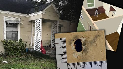 Shot that killed woman during Harding St. raid fired outside home, attorney says