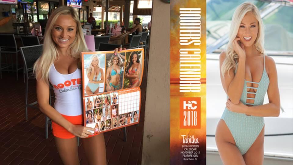 Tabitha Karol Hooters Calendar Girl