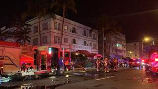 Hotel guests evacuated after small fire breaks out in Miami Beach