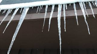Why you don't want to see icicles hanging from your gutters