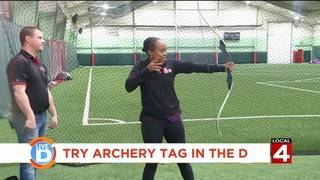 Give archery tag a try!