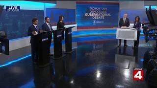 FULL DEBATE: Democratic candidates for Michigan governor debate in Detroit
