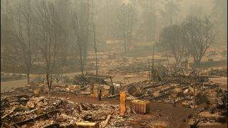 Death toll, number of missing rise in California's Camp Fire