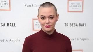 Rose McGowan's message to Harvey Weinstein: 'We got you'