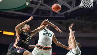 Hurricanes earn 3 seed, double-bye at ACC tournament