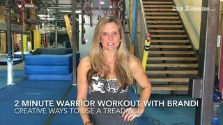 2-Minute Warrior Workout: Creative Ways To Use Treadmill