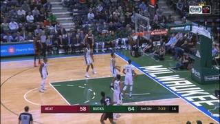 Whiteside leads Heat to win over Bucks