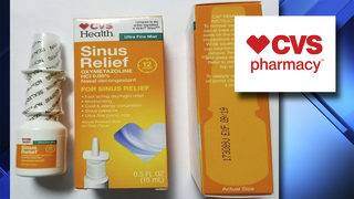 CVS recalls nasal spray over possible life-threatening contamination