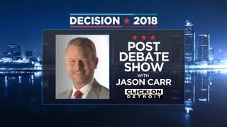 WATCH LIVE: Post Michigan Democratic gubernatorial debate show with Jason Carr