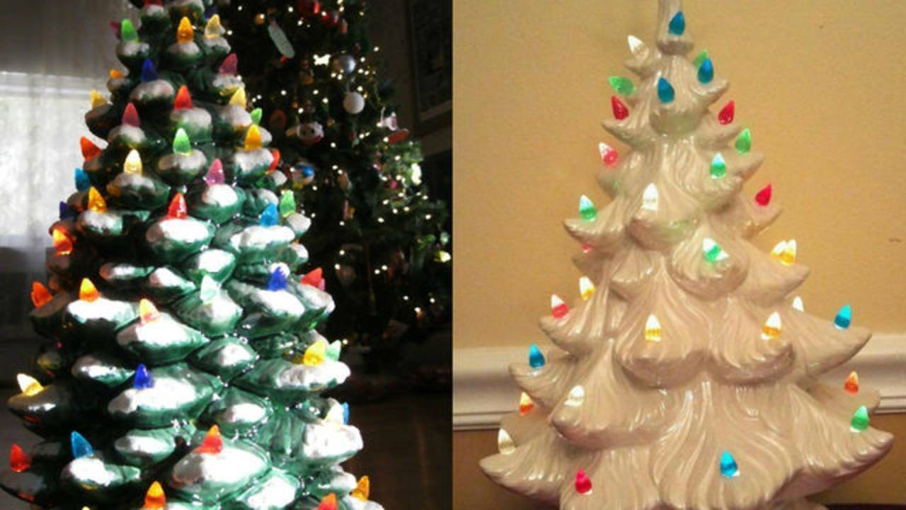 Vintage Ceramic Christmas Trees Could Bring You Big-time