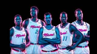 Heat go retro with new 'Vice' jerseys
