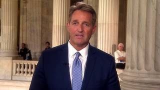 Jeff Flake rips Trump: A president 'who cannot take criticism ... is&hellip&#x3b;