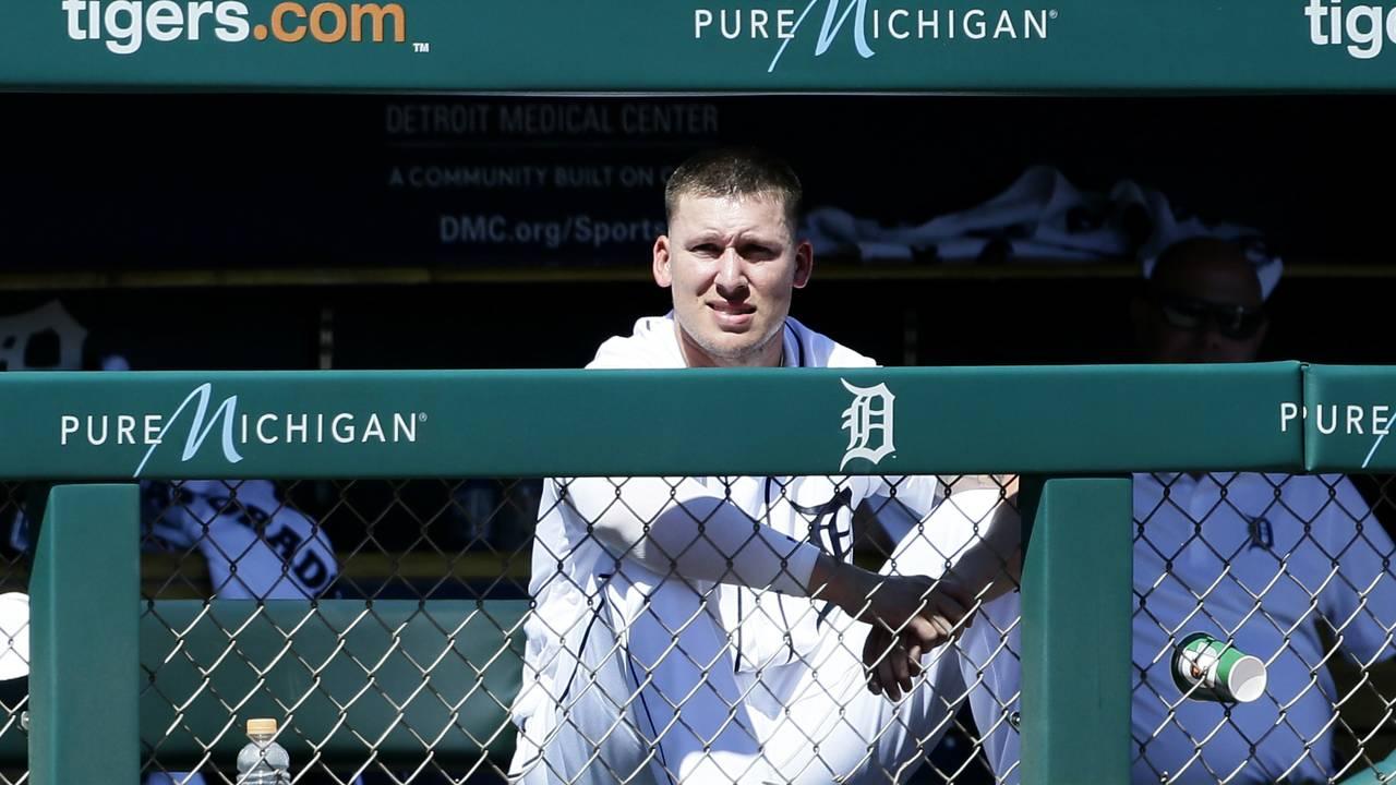 JaCoby Jones Detroit Tigers vs Rangers 2019