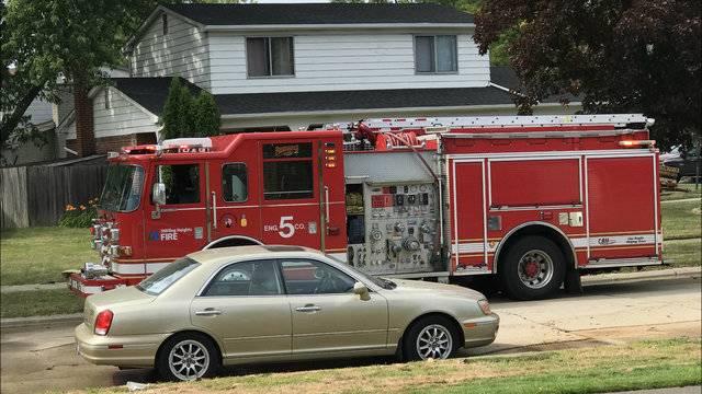 Sterling Heights house fire marijuana grow operation 1