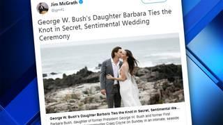 Barbara Bush Wedding Photos.Barbara Bush Ties The Knot In Maine
