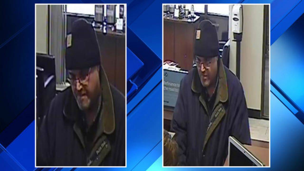 Chesterfield Township bank robbery suspect