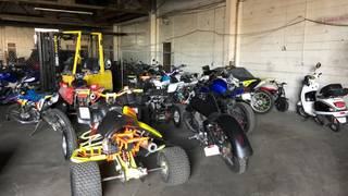 Tow yard claims riders attempted to break in to retrieve impounded bikes, ATVs
