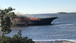 Woman dies after casino boat fire in Florida