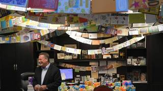 Employees surprise Michigan-based company's CEO with 8,000+ birthday cards