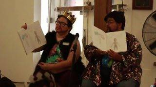 Drag King troupe hosts bilingual story time for local families