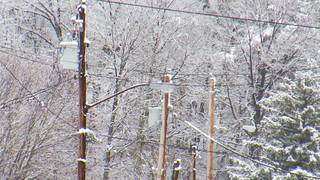 Snow causing power issues in the New River Valley