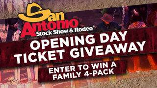 SA Live San Antonio Stock Show & Rodeo Opening Day Online Giveaway