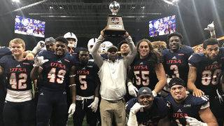 Sackett boots 3 long FGs, UTSA holds off Texas State 25-21