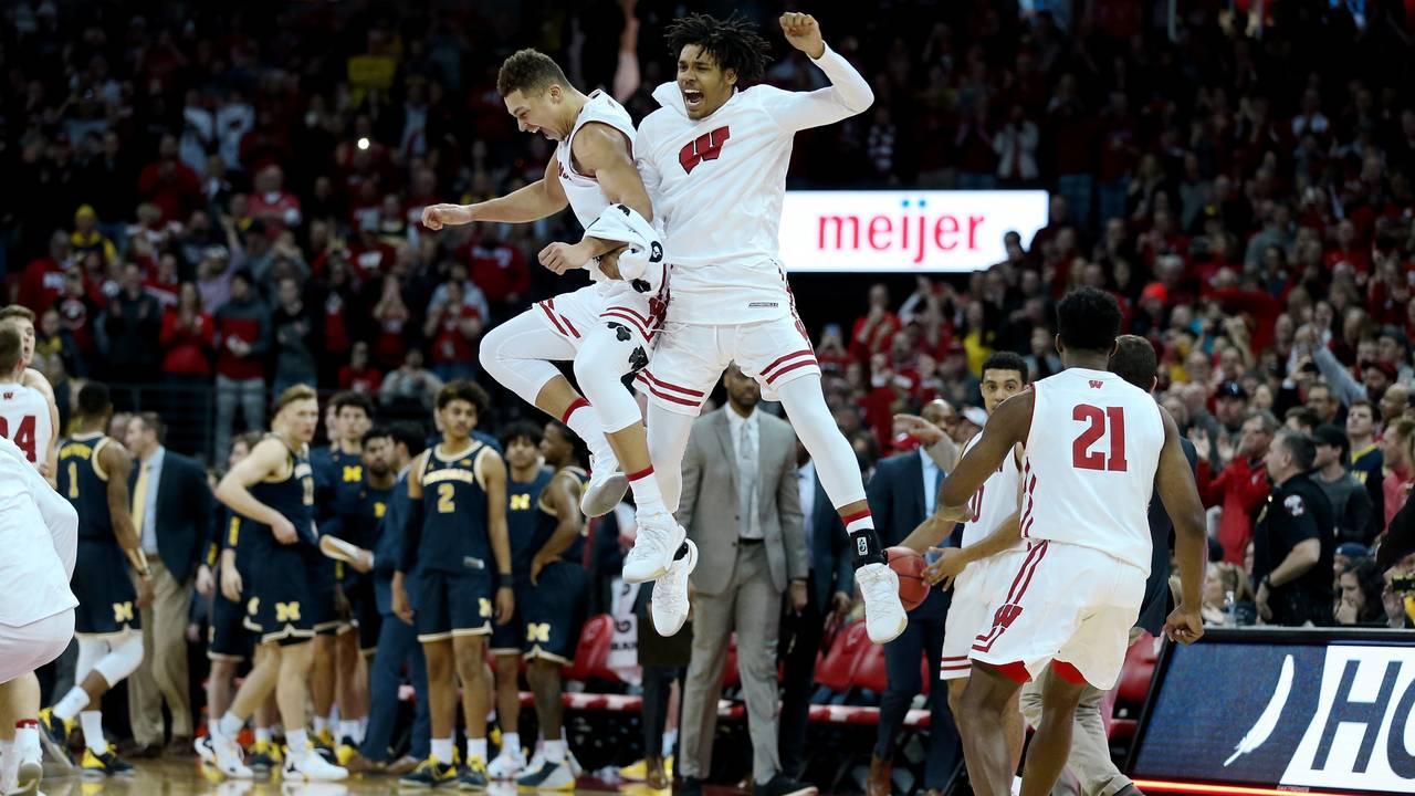 Wisconsin basketball beats Michigan 2019