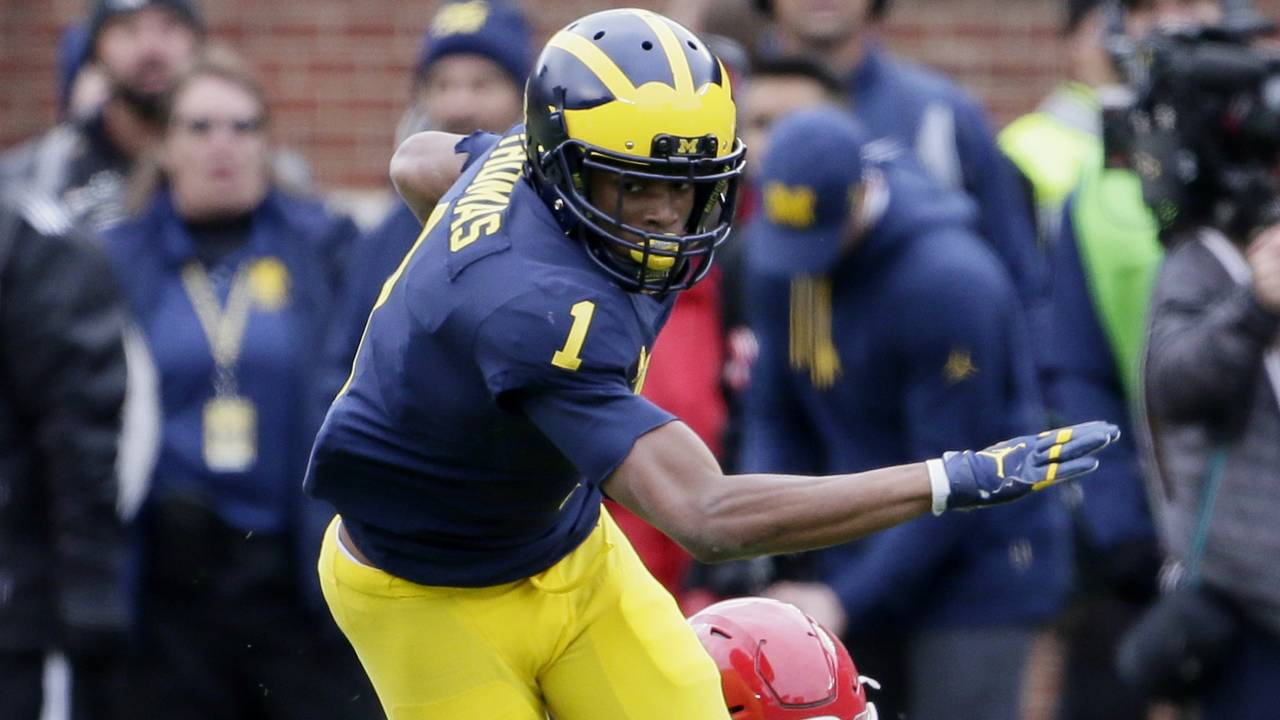 Ambry Thomas Michigan football vs Rutgers 2017