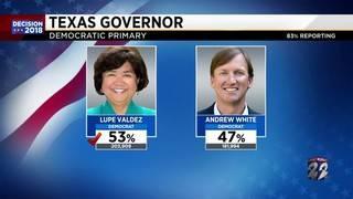 Lupe Valdez wins Democratic nomination for Governor