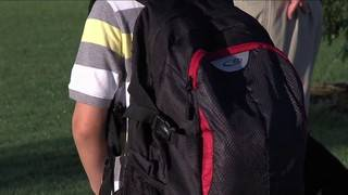 Back-to-school: Keep backpacks light and worn right