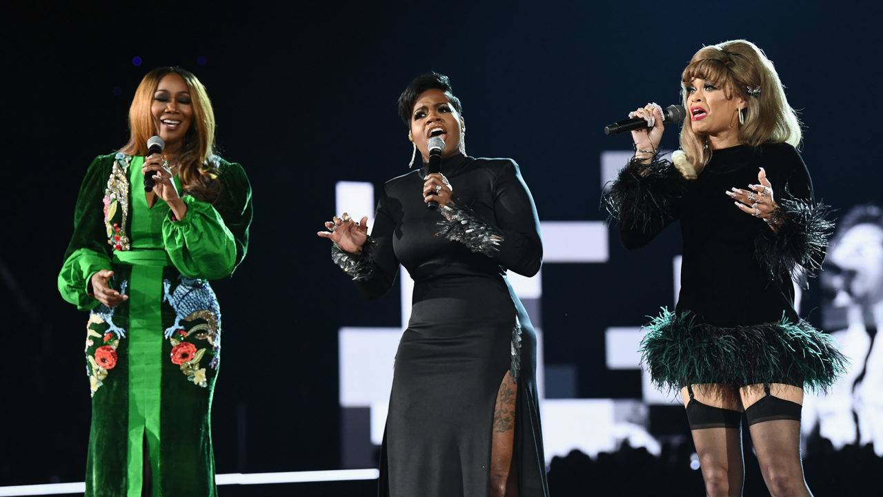 Image result for aretha franklin grammys tribute