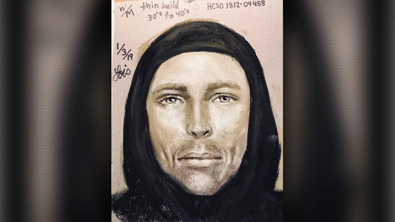 sketch of suspect in jazmine barnes shooting