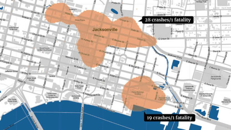 Jacksonville-crash-zones-map