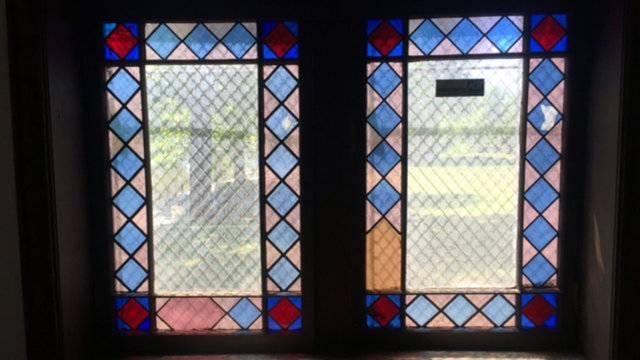 Detroit log cabin windows