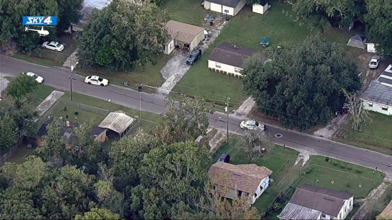 West 9th shooting scene aerial