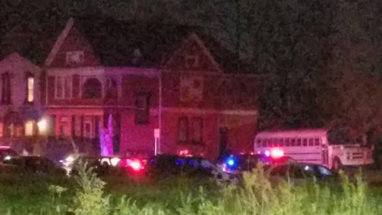 WSU officer shot in head scene image