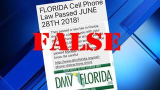 Seen post about a new Florida law? It isn't true
