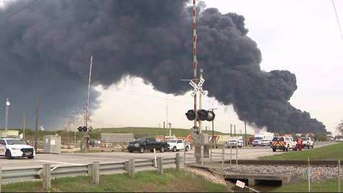 How to protect your health as chemical fire burns in Deer Park